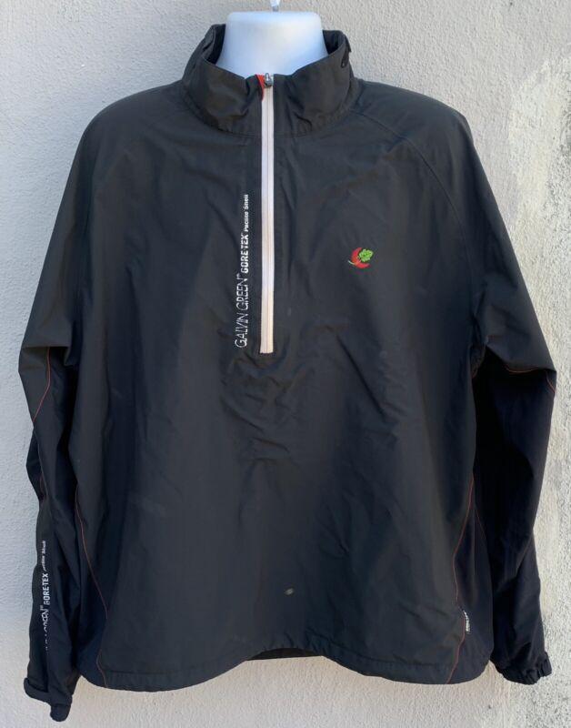 Galvin Green Gore-Tex Mens Paclite Shell LS 1/4 Zip Jacket 3XL Distressed