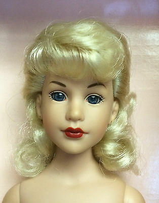 """18"""" Kitty Collier Beautiful Blonde Nude Basic Doll - Ready to Display  - Tonner"""