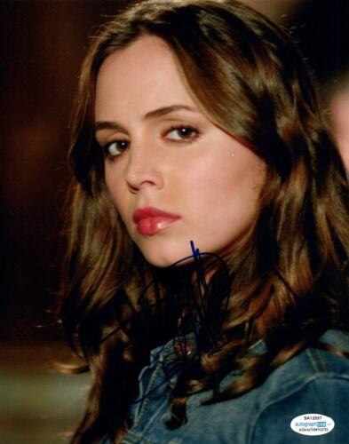 Eliza Dushku Signed Autographed 8x10 Photo Buffy The Vampire Slayer ACOA COA