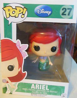 NEW Pop Funko Disney Princess The Little Mermaid Ariel Number 27