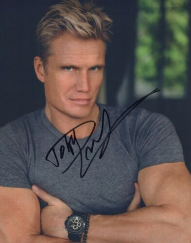 "Dolph Lundgren (""Rocky IV"" star) Signed photo"