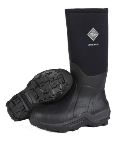 The Original MuckBoots Adult Arctic Sport Boot,Black,10 M US Mens/11 M US Womens ASP-000A