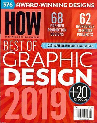 HOW - Inspiring Design Success Summer 2019 Best of Graphic