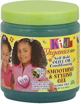 Africa's Best Kids Organics Smoothing - Styling Gel 15 oz (Pack of