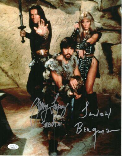 Gerry Lopez Sandahl Bergman Autograph Signed 11x14 Photo - Conan (JSA COA)