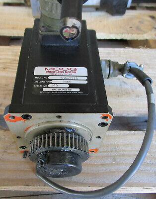 Moog Servo Motor 304-121a Used Cut Out