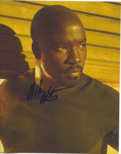 MIKE COLTER SIGNED AUTHENTIC 'LUKE CAGE' 8X10 PHOTO E w/COA JESSICA JONES ACTOR