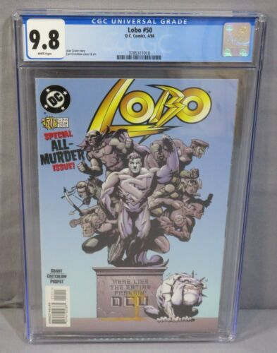 LOBO #50 (Highest Graded on Census) CGC 9.8 NM/MT DC Comics 1998 White Pages