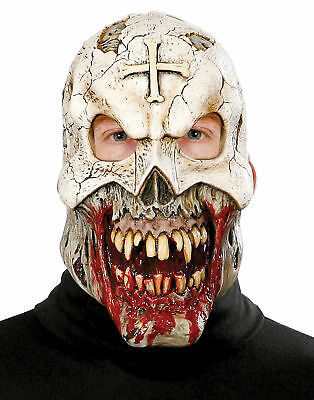 Scary Voodoo (Voodoo Priest Adult Mask Paper Magic 771323 Realistic Scary Monster)