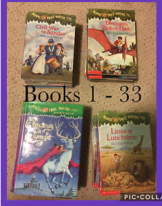 Magic Tree House Collection (books 1-33)