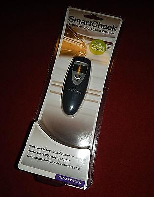 Smart Check : Digital Alcohol Breath Checker  fast & Accurate Reading - protocol