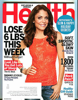 Health Magazine December 2012 Bethenny Frankel Ex 070716Jhe