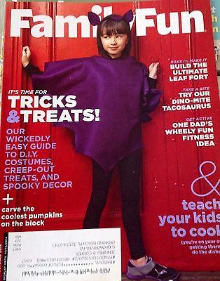 Family Fun Magazine Halloween (Family Fun Magazine October 2014 DIY Halloween Costumes Teach your kids to)