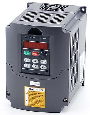 Frequenzumrichter 3HP Variable Frequency Driver Inverter VFD 2,2KW 220V 10A CNC