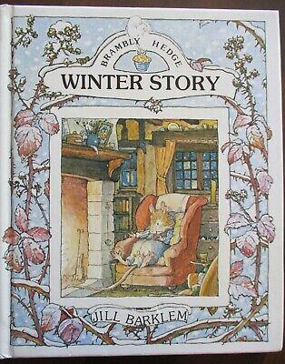 Winter Story,  Jill Barklem Brambly Hedge HB 1985