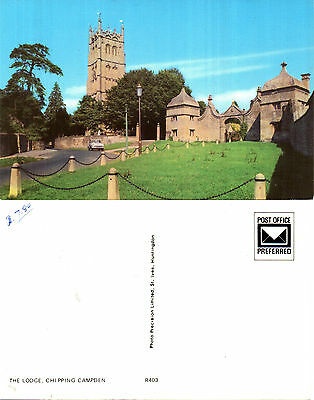 1980's THE LODGE CHIPPING CAMPDEN GLOUCESTERSHIRE UNUSED COLOUR POSTCARD