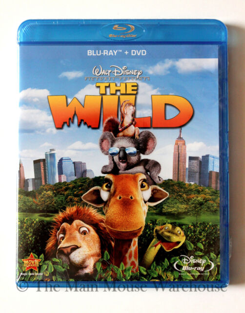 Disney The Wild Zoo New York Blu-ray & DVD Combo Pack English French and Spanish