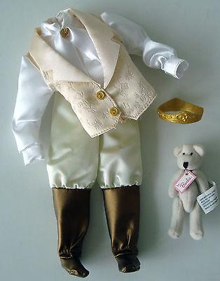 Barbie/KEN Doll Clothes/Fashion Royal/King/Prince Garment Set W/ Bear NEW!