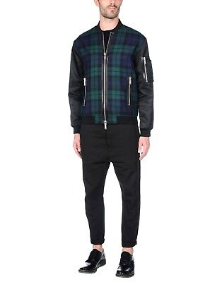 65% OFF DSQUARED2 Bomber Jacket With Zip Pockets IT54 slim fit XL or 2XL