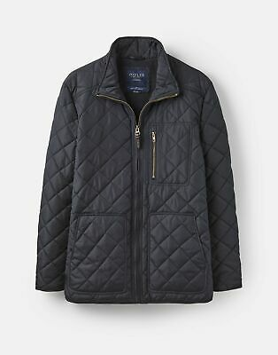 Joules  208486 Fleece Lined Qulited Jacket - MARINE NAVY