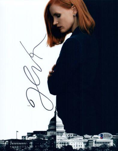 Jessica Chastain Signed Autographed 8x10 Photo ZERO DARK THIRTY Beckett COA