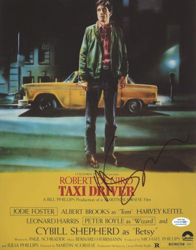 "Martin Scorsese ""Taxi Driver"" Director AUTOGRAPH Signed 11x14 Photo ACOA"