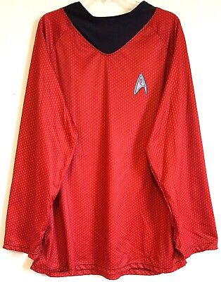 RUBIE'S COSTUME CO RN 66360 Men's Star Trek Scotty Costume Shirt – Size: - Rubie S Kostüm Star Trek Co
