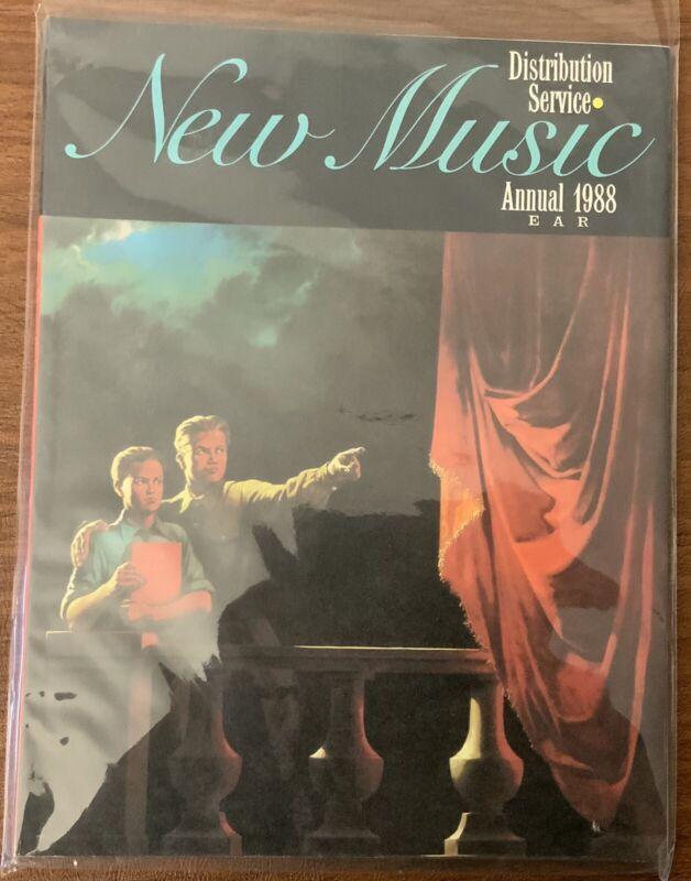 New Music Distribution Service Catalog - Experimental Music List - 1988  JCOA