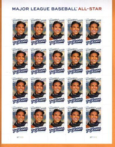 Yogi Berra(New York Yankees)Major League Baseball All Star/Forever Stamp Sheet