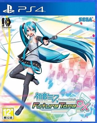 Hatsune Miku: Project DIVA Future Tone DX HK Chinese/Japanese subtitle PS4 NEW segunda mano  Embacar hacia Argentina