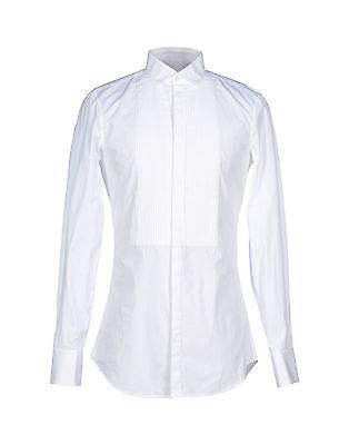 Camicia uomo da sposo cerimonia da smoking Su Misura  diplomatica collo italiano