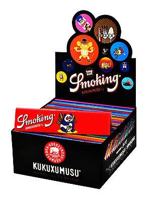 1 Box Smoking® KUKUXUMUSU King Size Papers 50 x 33 Blättchen Long Papers