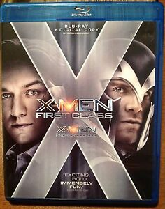 X-Men First Class on blu-ray