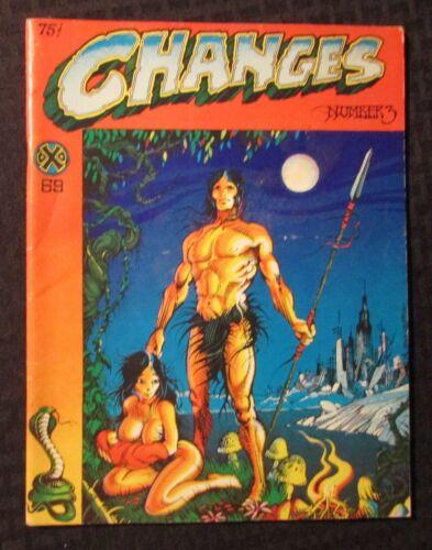 1969 CHANGES #3 VG 4.0 Rick Griffin Underground R Crumb