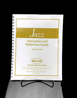 Baby Lock Jazz BLMJZ Sewing Machine Manual COLOR COPY Instructions User Guide