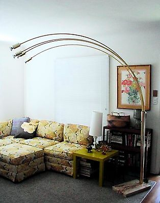 Original Vintage Arc Arch Lamp 1960s Nova Large Free California Local Pick Up