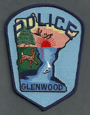 GLENWOOD MINNESOTA POLICE PATCH