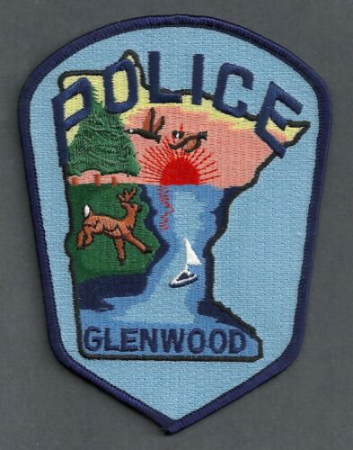 GLENWOOD MINNESOTA POLICE SHOULDER PATCH