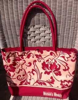 New Pretty Red & Champagne Shoulder Bag Lake Haven Wyong Area Preview