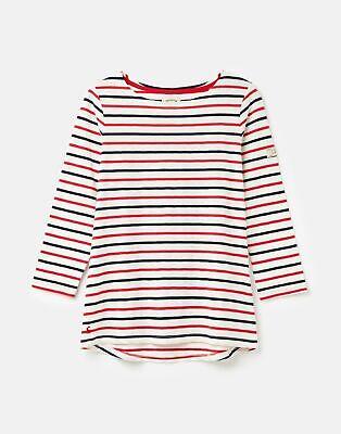 Joules Women-Collection 208567   3/4 Sleeve Lightweight Jersey Top Shirt -  Size
