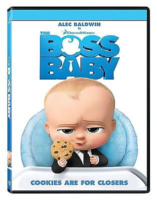 The Boss Baby  Dvd 2017 New  Animation  Now Shipping