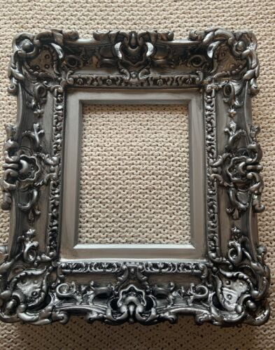 Antique Victorian Distressed Frame - Baroque Picture Frame 8 X 7 - $80.00