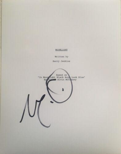Mahershala Ali Signed Moonlight Full Movie Script Autographs - $120.00