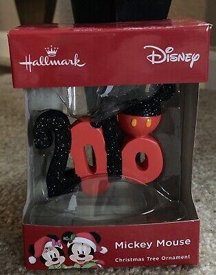 "Disney ""2018"" Christmas Ornament NIP"
