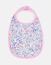 Joules Oops Printed Bib ONE in ACORN DITSY in One Size
