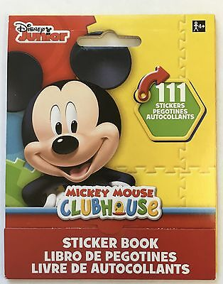 111 Disney Junior MIckey Mouse Clubhouse Stickers Party Favors Teacher Supply - Mickey Mouse Party Supply