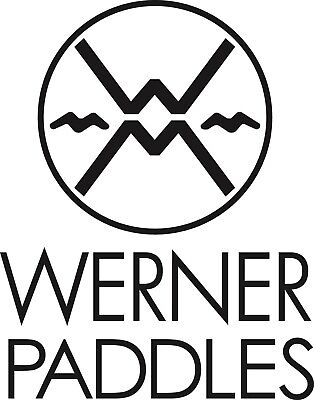 Werner Paddles 2 Stickers *choose your colour* guaranteed marine grade vinyl