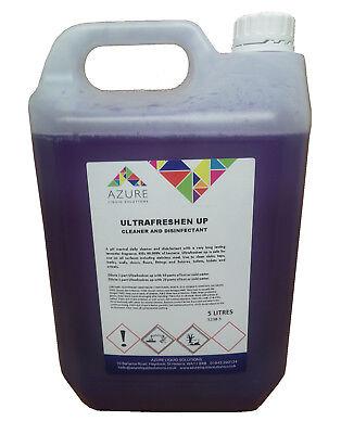 Ultrafreshen Up Cleaner & Disinfectant Long Lasting Lavender Fragrance - 5L