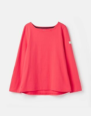 Joules  209682 Long Sleeve Jersey Top Shirt - RED
