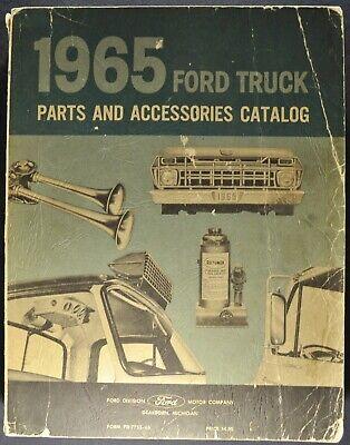 1965 Ford Truck Parts Book Catalog Pickup Stake Panel Econoline Van COE Original